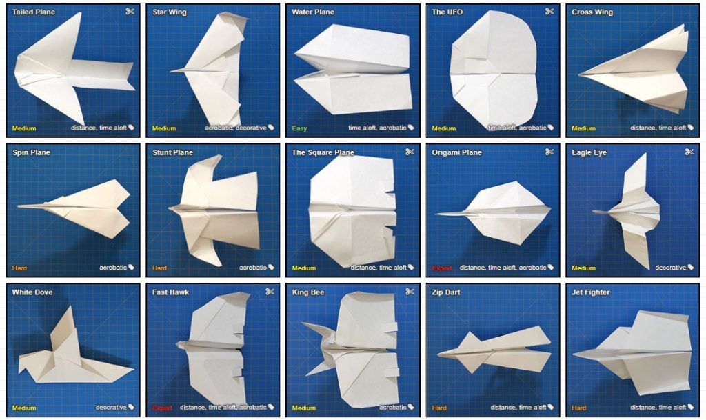 38 Aviones De Papel Paso A Paso Con Tutoriales En Video